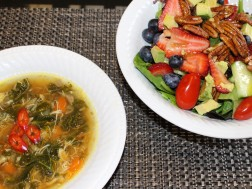 Sexy salads and soups