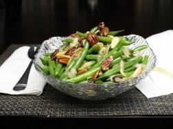 Green Beans with Carmelized Onions & Pecans