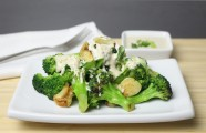 Creamy Sesame Broccoli