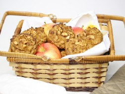 Quick Apple Breakfast Muffins (paleo!)