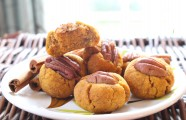 Pumpkin Pecan Thumbprint Cookies